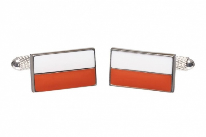 Flag of Poland Cufflinks
